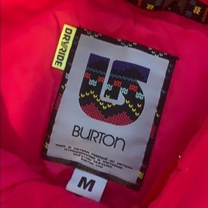 Burton Other - Pink Burton snowboarding pants